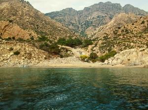 Kalou little beach