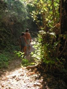wild lone camp in ikaria