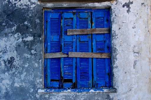 Blue window in Therma by infiltracions, on Flickr