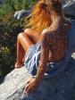 Lafina Manganitis resting rock