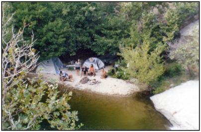 Good old times, camping in Nas Ikaria