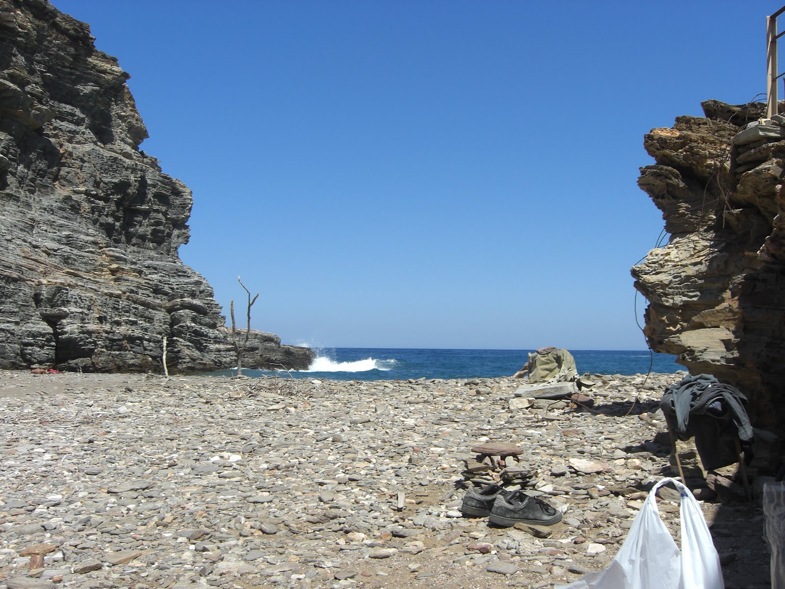 My first photos in Ikaria. Then others followed.