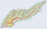 ikaria hiking weekend map