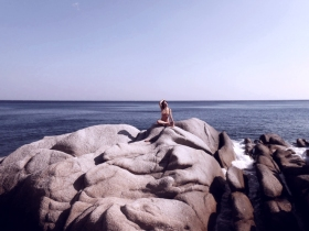 Mavri rocks Ikaria