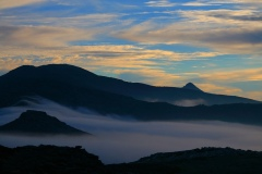 fog on Atheras in Ikaria