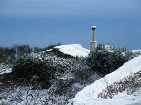Snow in the Aegean
