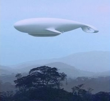 Airship Ikaria over Ranti Forest