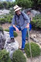 55-year-old Angelos Kalokairinos has lived in Ikaria since 1992 when he moved from Athens where he was born to discover the island of his Ikarian ancestors. Since then he has been the soul of Ikaria's vast hiking project, guiding groups, publishing maps and books and taking and sharing photographs. He was the head of OPS Ikarias from 2008 to 2014. Deep knower of the history of the Aegean islands and a lover of the complicated natural and architectural environment of Ikaria, Angelos likes to share his knowledge both sitting under a tree and while walking.