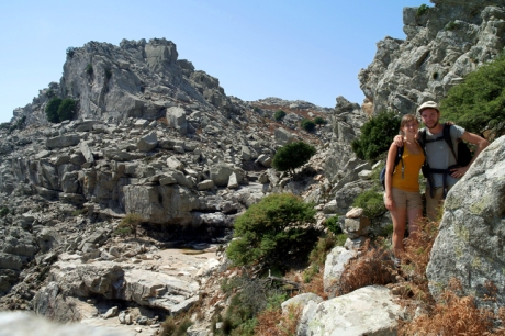 Chiara and Pierre in Ikaria
