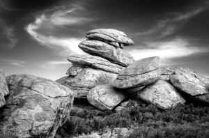 My friend Angelos contributes to my blog with a great article presenting 36 amazing black and white photos taken in the rocky landscapes of Pezi by an American writer and photographer during the winter.