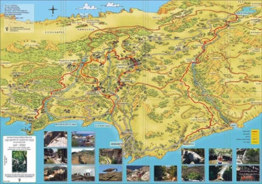 Ikaria hiking map 5
