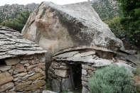 Old settlement in Karkinagri Ikaria