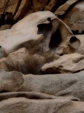 Rock sculptured by nature in Mavri, Ikaria Greece