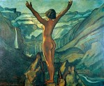 Francis Picabia, nu devant un paysage