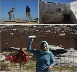 Knocking down the old refuge in Ikaria
