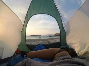 The new camping in Ikaria in picture slideshow
