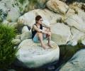 Secret place ikaria waterfall