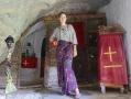 Ida in the chapel of theoktisti