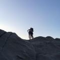 Sunrise hiking