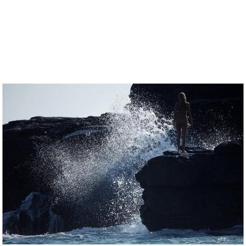 Waves in Kampos, Ikaria