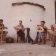 Four students of Evgenios Voulgaris. Photo, Musical Yards, Ikaria © All rights reserved 2012-2017