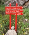 The Round of Rahes Hiking Signs